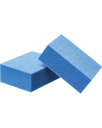 ForPro Mini Buffing Block Blue 180/180 Grit 24-Count