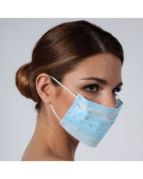 Basics Surgical Ear Loop Mask, 50-count