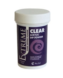 Extreme Acrylic Dipping Powder Clear 1 oz.