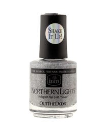 Northern Lights Hologram Top Coat Silver .5 oz.