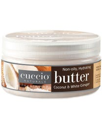 Butter Blend Hydrating Treatment for Hands, Feet & Body Coconut & White Ginger 8 oz.