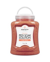 Premium Pedi Soak Solution Mango Papaya 70 Ounces
