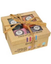 Ginger Lily Farms Botanicals Therapy Fizzy Bomb Gift Set 4-Count