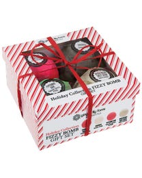 Ginger Lily Farms Botanicals Holiday Collection Fizzy Bomb Gift Set 4-Count