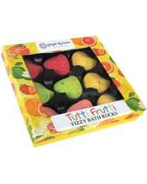 Ginger Lily Farms Botanicals Tutti Frutti Fizzy Bath Rocks Gift Set 9-Count