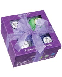 Ginger Lily Farms Botanicals Restorative Fizzy Bomb Gift Set 4-Count