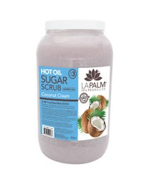 Coconut Cream Softening Sugar Scrub Gallon