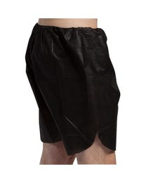 ForPro Men's Black Boxer Shorts 50-Count