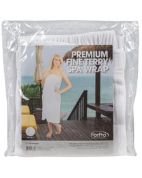 Premium Fine Terry Spa Wrap
