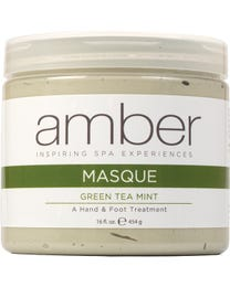 Calming Hand & Foot Masque - Green Tea Mint & Peppermint 16 oz.