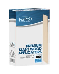 ForPro Premium Slant Wood Applicators 100-Count