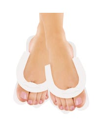 ForPro Fold-Up Pedi Slippers White 360-Pair