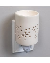 Butterfly Flutter Ceramic Plug-In Wax Melter & Essential Oil Diffuser
