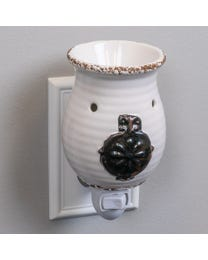Antique Jardineire Ceramic Plug-In Wax Melter & Essential Oil Diffuser