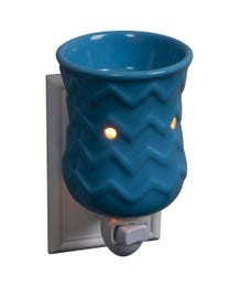 Ocean Waves Ceramic Plug-In Wax Melter & Essential Oil Diffuser