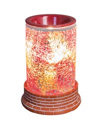 Hearts of Fire Mosaic Halogen Wax Melter