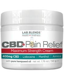 CBD Pain Relief Cream 1.76 oz.