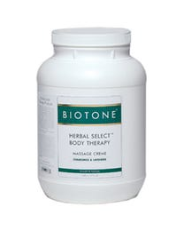 Herbal Select Body Therapy Massage Creme Gallon