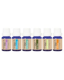 Pure Essential Oil Works Organic Top 6 Collection 6-Count