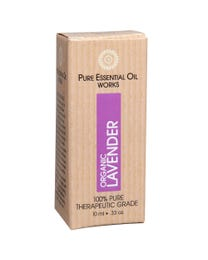 Pure Essential Oil Works Organic Lavender Oil .33 Ounces