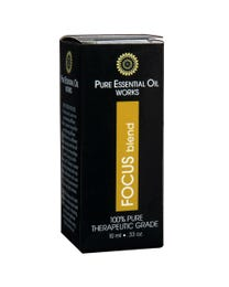 Pure Essential Oil Works Focus Blend .33 Ounces