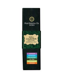 Pure Essential Oil Works Top 6 Collection 6-Count