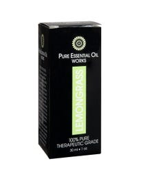 Pure Essential Oil Works Lemongrass Oil One-Ounce