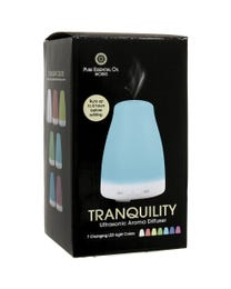 Pure Essential Oil Works Tranquility LED Ultrasonic Aroma Diffuser