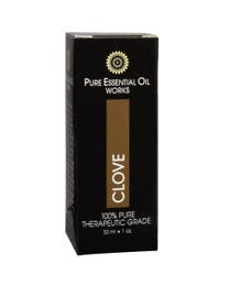 Pure Essential Oil Works Clove Oil One-Ounce