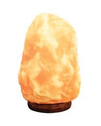"""Pure Himalayan Salt Works 100% Natural Himalayan Salt Lamp 8"""" H"""