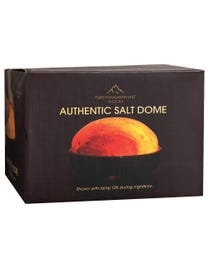 "Pure Himalayan Salt Works Authentic Salt Dome 9"" Round x 5"" H"