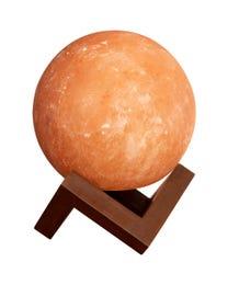 """Pure Himalayan Salt Works Illumination Sphere, 6"""" L x 6"""" W x 8"""" H"""