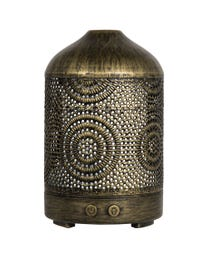 Pure Essential Oil Works Filigree LED Ultrasonic Aroma Diffuser