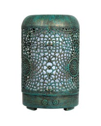 Pure Essential Oil Works Patina LED Ultrasonic Aroma Diffuser