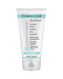 Pharma Clear Anti-Bacterial Facial Cleanser (Step 1) 6 oz.