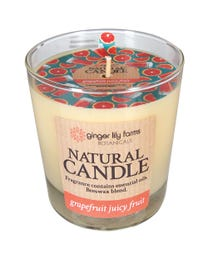 Ginger Lily Farms Botanicals Natural Candle Grapefruit Juicy Fruit