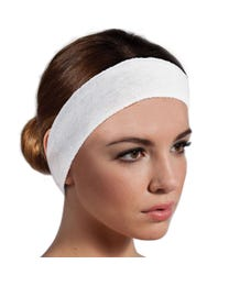 "ForPro Stretch Headband 2"" W x 18"" C 48-Count"