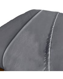 Premium Microfiber Massage Flat Sheet Cool Grey