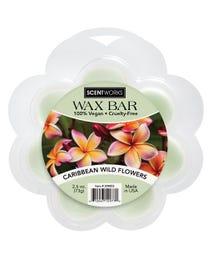 Caribbean Wild Flowers Wax Bar 2.6 Ounces