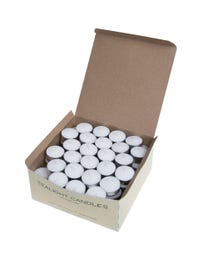 Scentworks Premium Fragrance-Free Tealights 7-hr Burn Time 100-Count