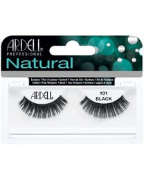 Fashion Lashes 1-pr. Black Demi 101
