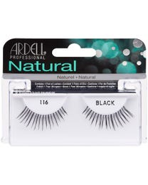 Fashion Lashes 1-pr. Black 116