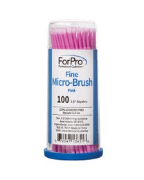 Fine Micro-Brush Pink 100-Count