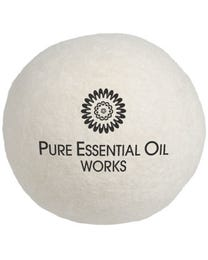 Pure Essential Oil Works Wool Works Organic Wool Dryer Balls 6-Count