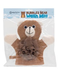 Ginger Lily Farms Botanicals Bubbles The Bear Wash Mitt