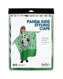 ForPro Panda Kids Styling Cape
