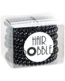ForPro Hair Bobbles XL Pitch Black 6-Pack