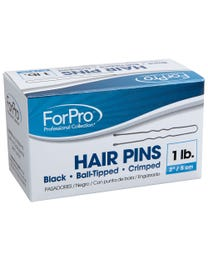 "ForPro Hair Pins Black 2"" L 1 Lb."