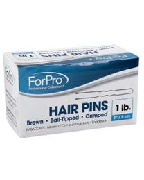 "ForPro Hair Pins Brown 2"" L 1 Lb."