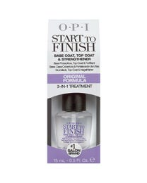 Start-To-Finish Basecoat/Top Coat/Nail Strengthener 1/2 oz.